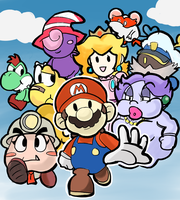 Paper Mario: TTYD - Doodle by RamyunKing