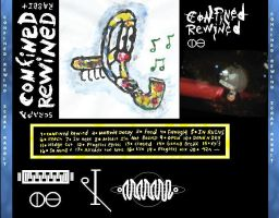 full size back cover of Confined Rewind by Scrap-Rabbit-X
