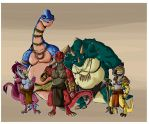 Five Greater Clans by Eternal-Shadow-S