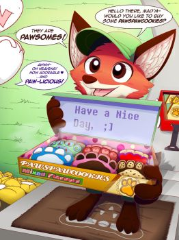 FA- Would you like some Pawspawcookies? by Rexcalibur25