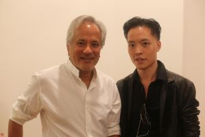 Michael Andrew Law and Anish Kapoor by michaelandrewlaw