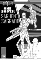 BK one shots SARHENTO SAGRADO by gammaknight