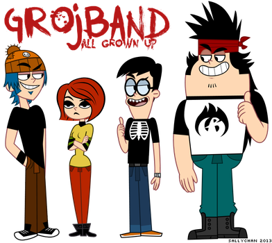 Grojband - All Grown Up by sallychan