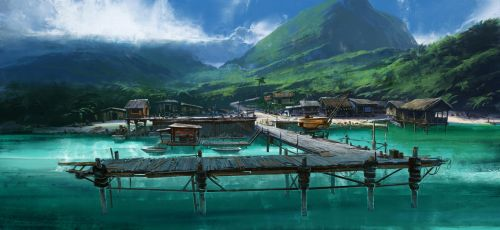 Dock by joshuathejames