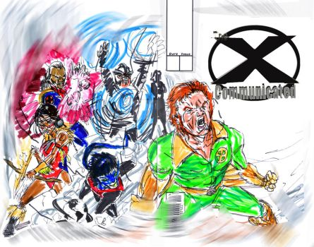 X-communicated cover 1 by jose rodrigues art by joselrodriguesart