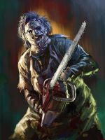 13 NoH Day 12 Leatherface by Grimbro