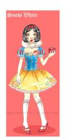 Disney Snow White lolita by xxxKei87xxx
