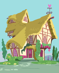 Ponyville Cottage by SelenaEde
