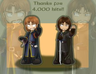 Argonath say thanks for 4,000 by black3