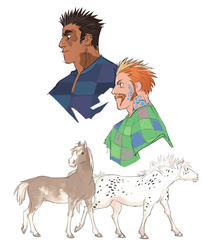Marmareon and Rory by GreekCeltic
