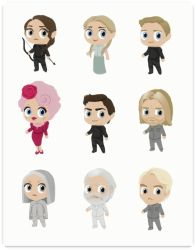 The Hunger Games In Chibis by Alanica