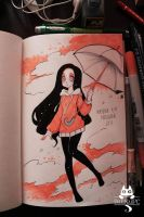 Inktober  2015 Day 1 by Paulinaapc