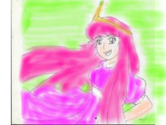 Princess Bubblegum by Erinekath27