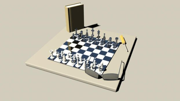 chess table by IronPython