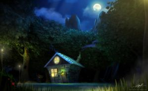 a lovely night by petera