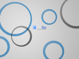Linux Mint Circles KDE nonwide by Tithis