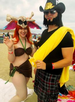 Gnar and Twisted Fate Beach Versions by JakTheRipper13