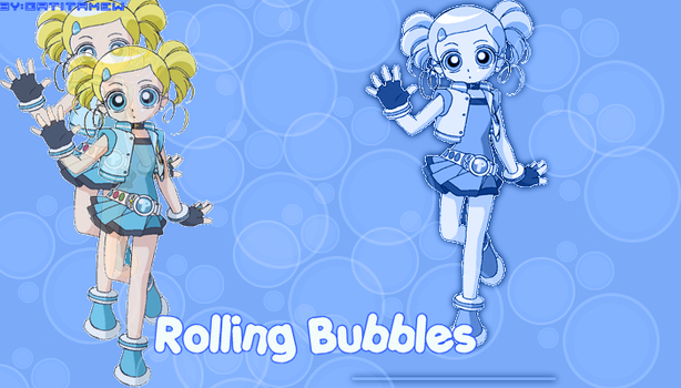 Rolling bubbles graphxx by 0MewMiyako0