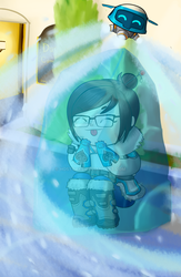 Overwatch - Mei by Hostcake