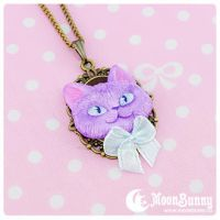Cheshire cat Necklace 2 by CuteMoonbunny