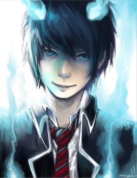 ao no exorcist by chowpan