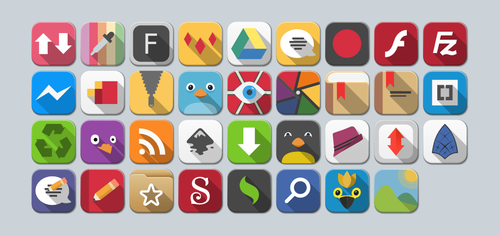 Custom Icons for FlatWoken by jomorales87