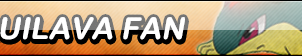Quilava Fan Button (Request) by Kyu-Dan