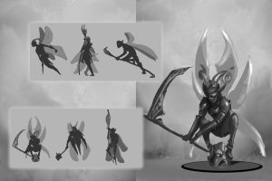 Concept art sheet- Pixie by Fenrir--the-2nd