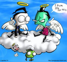 Invader Zim - Angels by yang