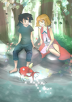 [Request] Ash x Serena - Amourshipping by Pikarty10