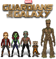 The Guardians of the Galaxy by ThatsSoHaydn
