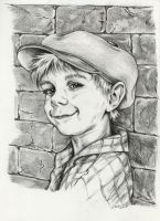 Boy portrait by Adniv