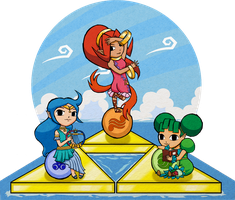 Collab: Wind Waker Styled Oracles by Amandinde