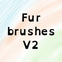 Gimp Fur Brush That Works In All Directions V2 by horse14t