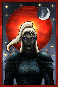 Red Moon by Siobhan68