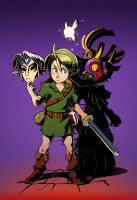Fan Art - Majora's Mask by Crumbelievable