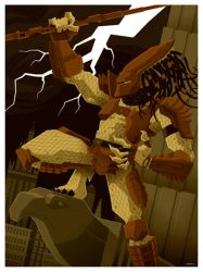 predator 2 commission by strongstuff