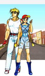 Cammy and Terry by yakumoSoul