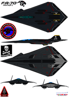 Lockheed  FA-70 Panther 2  jolly rogers by bagera3005