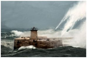 Stormy Sea by MGD42