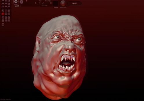 Norris - The Thing - 3D sculpt by Harnois75