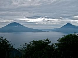 Volcano's in Guatemala by Spirit-of-song