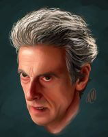 The Doctor by AlcamecArt