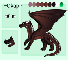 Okapi Ref Sheet by AwesomeAmber-669