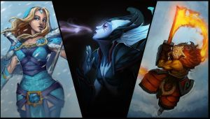 Loading Screens for Dota 2 by MugenMcFugen