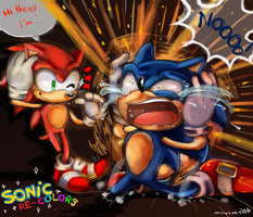 Sonic Recolors/Half recolors /Unoringal Sonic FC by toggle89