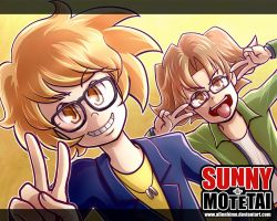 Sunny and Motetai by metalhime