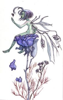 Rose Faery and Microbug by maina