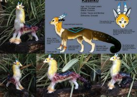 Kaseiko - Commission - Poseable by SonsationalCreations