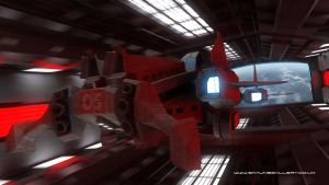 The Drake - Explorer class space ship concept by madaboutgames